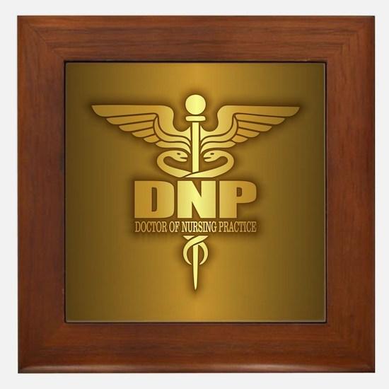 DNP gold Framed Tile