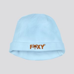 Foxy baby hat