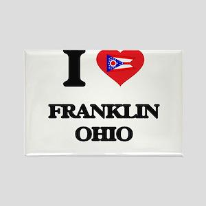 I love Franklin Ohio Magnets