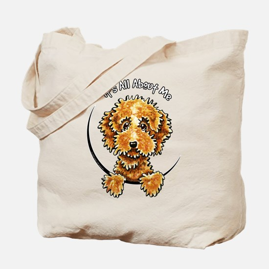 Cockapoo Tan IAAM Tote Bag
