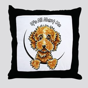 Cockapoo Tan IAAM Throw Pillow