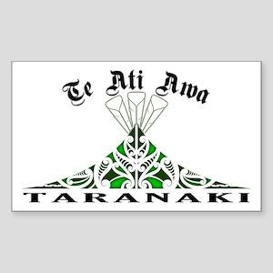 Te Ati Awa - Taranaki Rectangle Sticker