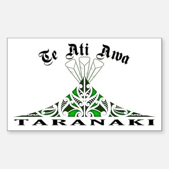 Te Ati Awa - Taranaki Rectangle Decal