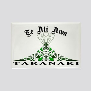 Te Ati Awa - Taranaki Rectangle Magnet