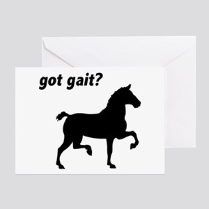 Got Gait Gaited Horse Greeting Card