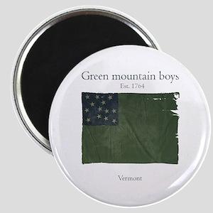 Green Mountain Boys Magnets