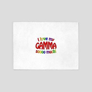 I love my GAMMA soooo much! 5'x7'Area Rug