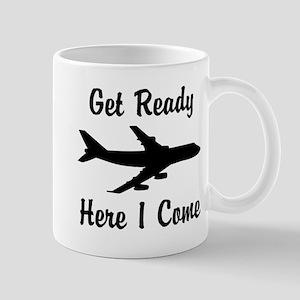 Here I Come Mugs
