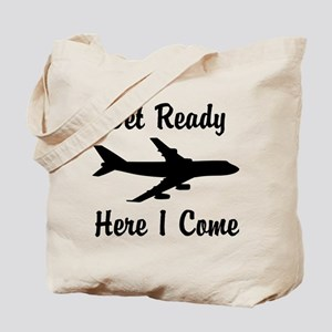 Here I Come Tote Bag