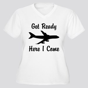 Here I Come Plus Size T-Shirt