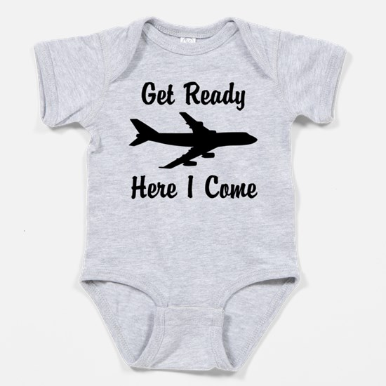 Here I Come Baby Bodysuit