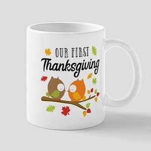 Our First Thanksgiving 11 oz Ceramic Mug
