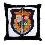 USS JOHN C. CALHOUN Throw Pillow