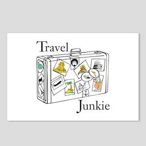Travel Junkie Postcards (Package of 8)