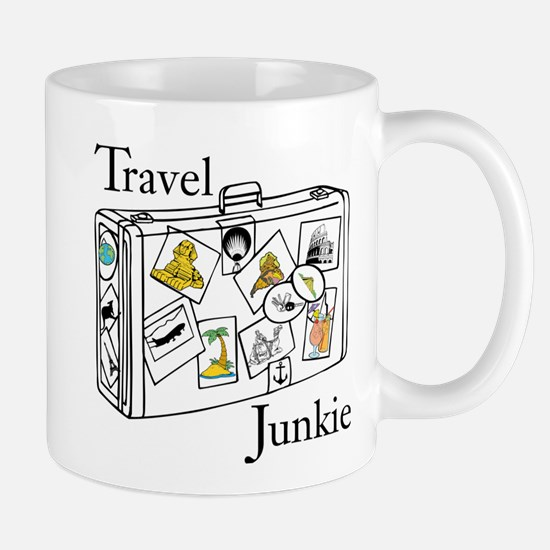Travel Junkie Mugs