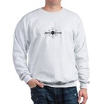 Maine Winter Snowflake Sweatshirt