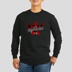 Stroke Awareness 16 Long Sleeve Dark T-Shirt