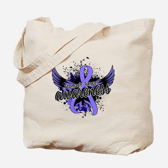 Stomach Cancer Awareness 16 Tote Bag