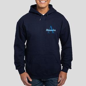 Personalized Monogrammed Hoodie (dark)