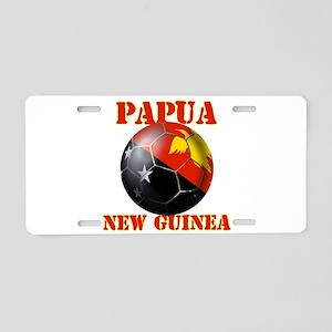 Papua New Guinea Football Aluminum License Plate