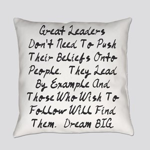 Lead By Example Everyday Pillow