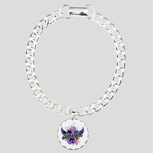 SIDS Awareness 16 Charm Bracelet, One Charm