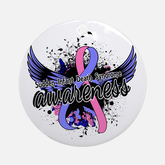 SIDS Awareness 16 Ornament (Round)