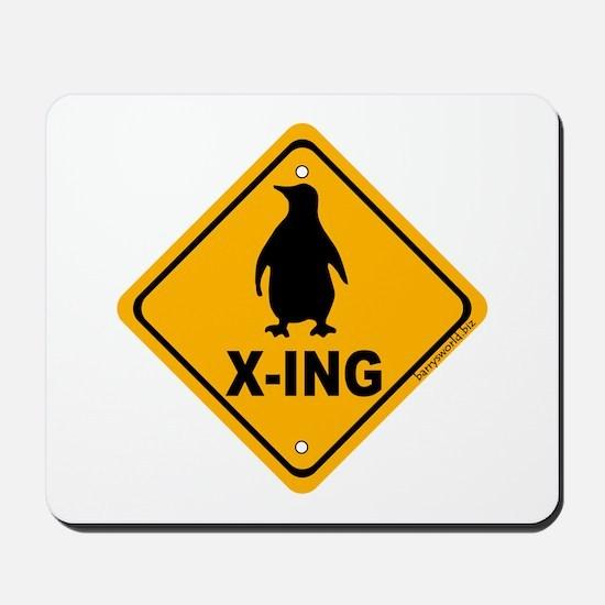 Penguin X-ing Mousepad