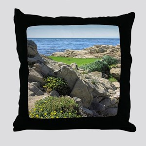 The Real 19th Hole Throw Pillow