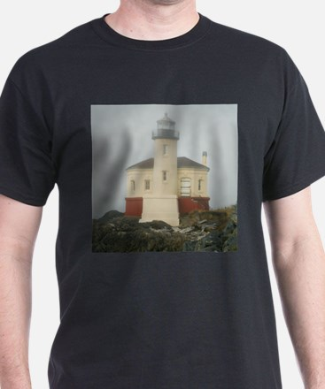 Coquille River Lighthouse T-Shirt