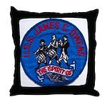 USS JAMES C. OWENS Throw Pillow