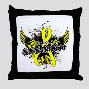 Sarcoma Awareness 16 Throw Pillow