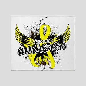 Sarcoma Awareness 16 Throw Blanket