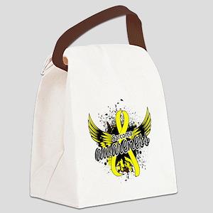 Sarcoma Awareness 16 Canvas Lunch Bag
