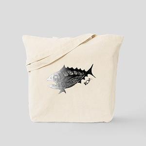 Chrome Retro Tuna. Fish Tuna RCM Wild Tote Bag