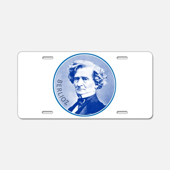 Hector Berlioz Aluminum License Plate