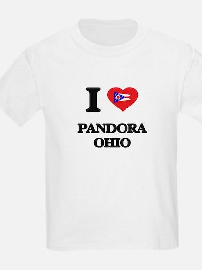 I love Pandora Ohio T-Shirt