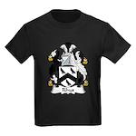 Rhys Family Crest Kids Dark T-Shirt