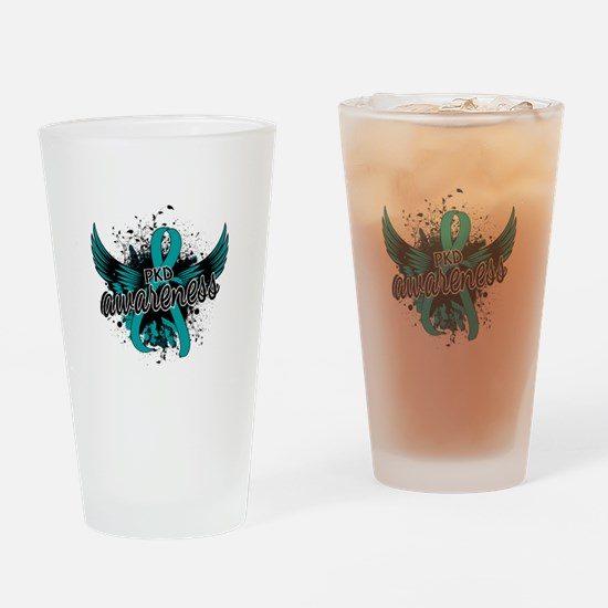 PKD Awareness 16 Drinking Glass