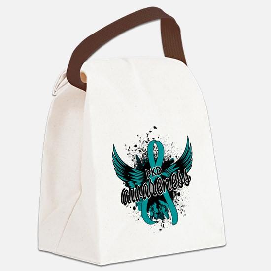 PKD Awareness 16 Canvas Lunch Bag