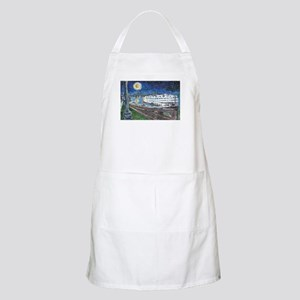 Starry Night Riverboat BBQ Apron