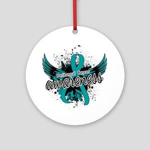 Peritoneal Cancer Awareness 16 Ornament (Round)