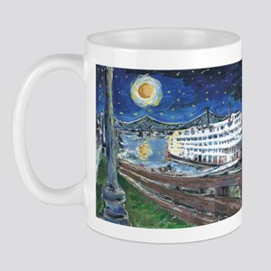 Starry Night Riverboat Mug