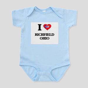 I love Richfield Ohio Body Suit
