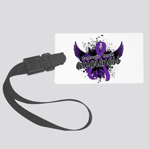 Pancreatic Cancer Awareness 16 Large Luggage Tag