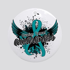Ovarian Cancer Awareness 16 Ornament (Round)