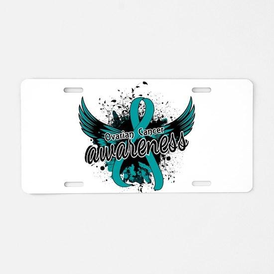 Ovarian Cancer Awareness 16 Aluminum License Plate