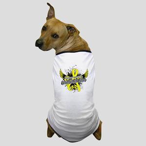 Osteosarcoma Awareness 16 Dog T-Shirt