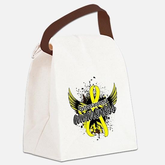 Osteosarcoma Awareness 16 Canvas Lunch Bag