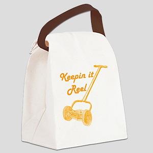 Reel Mower Canvas Lunch Bag